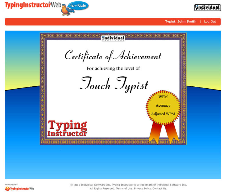 Home | TypingInstructorWeb for Kids